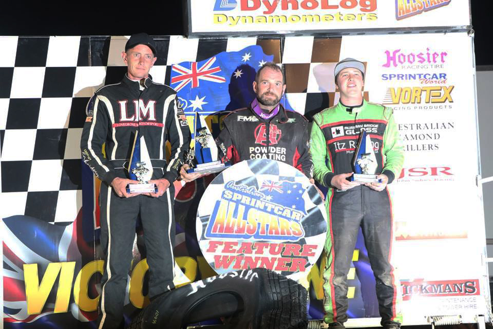 Sprint car winners australia